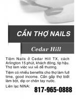 Cần Gấp Thợ Nails