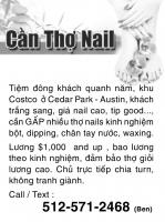 cần thợ nails GẤP