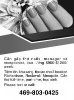 Cần Thợ Nails