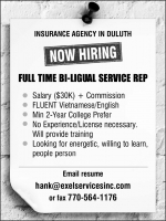 INSURANCE AGENCY IN DULUTH NOW HIRING
