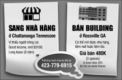 SANG NHÀ HÀNG + BÁN BUILDING